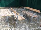 Скачать фото Мебель для дачи и сада Стол летний, доставочка бесплатная 37214162 в Владимире