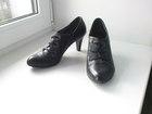 Свежее фото Женская обувь Туфли б/у, р, 36, натуральная кожа 39294987 в Владимире