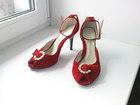Просмотреть foto Женская обувь Туфли-босоножки, р, 36,5, новые, натур, замша 39295034 в Владимире