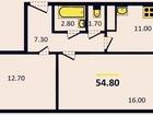 Продается отличная двухкомнатная квартира по адресу Верхняя