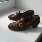 Туфли, натур, кожа, Англия, р, 35