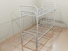 Уникальное изображение  Кровати металлические с ДСП спинками, кровати одноярусные и двухъярусные, кровати для интернатов, 36942972 в Барнауле