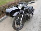 Уникальное foto Кран Ретро мотоцикл с коляской М 72, 37773791 в Волгограде