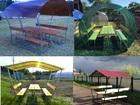 Просмотреть фото Мебель для дачи и сада Беседки для пикника с доставкой 38780926 в Волгограде