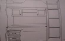 Подростковый спальный комплекс Lazurit