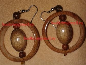 Увидеть фото  Деревянная бижутерия Саратов 37303433 в Саратове