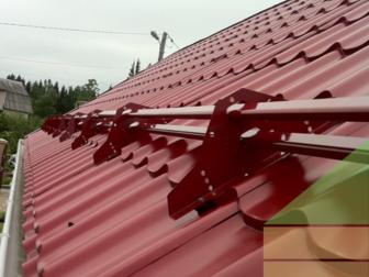 Скачать бесплатно фотографию Строительные материалы Трубчатые снегозадержатели Borge 82987303 в Волгограде