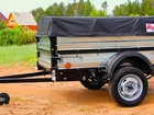 Свежее фото Бортовой прицеп Продам курганские,новые,хорошие прицепы для легкового автомобиля, В ВОронеже 37759976 в Воронеже