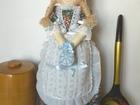 Фото в Хобби и увлечения Разное Интерьерная кукла ручной работы для хранения в Воронеже 290
