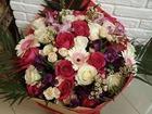 Смотреть изображение  Цветы в Воронеже, Букеты, Доставка по городу, 40182740 в Воронеже