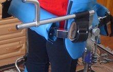 Параподиум-тренажер для реабилитации инвалидов