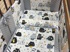 Бортики в кроватку   комплект постельного белья