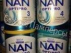 Детская смесь Nan Optipro 1,2,3,4